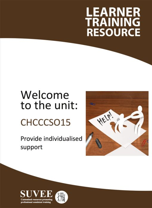 CHCCCS015 - Provide Individualised Support