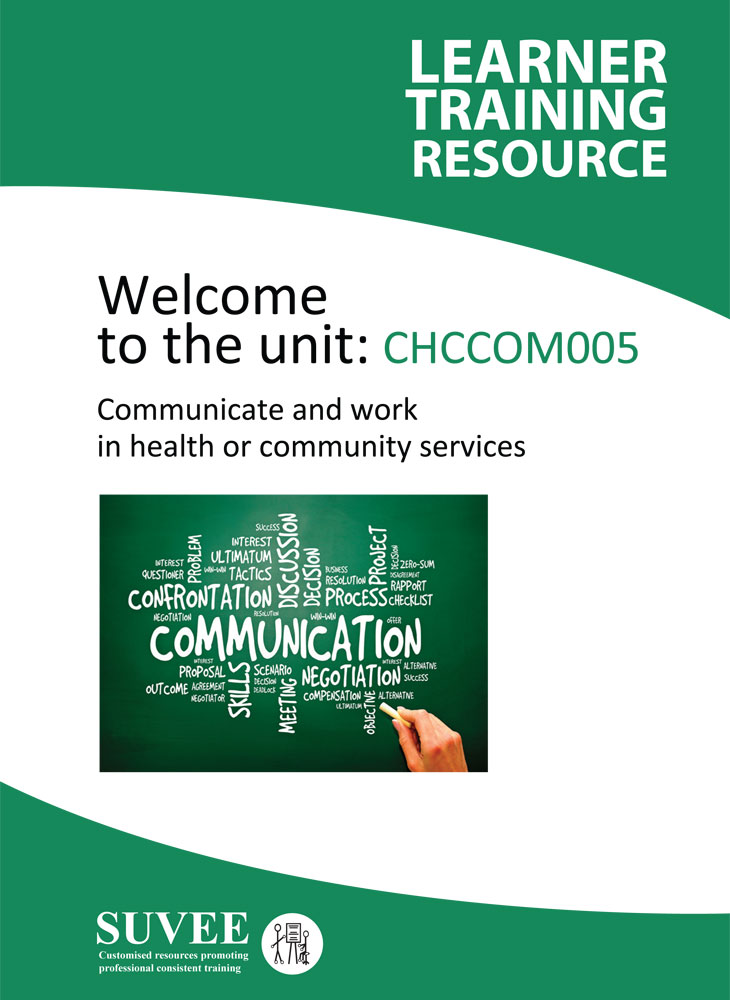 Community services work online course