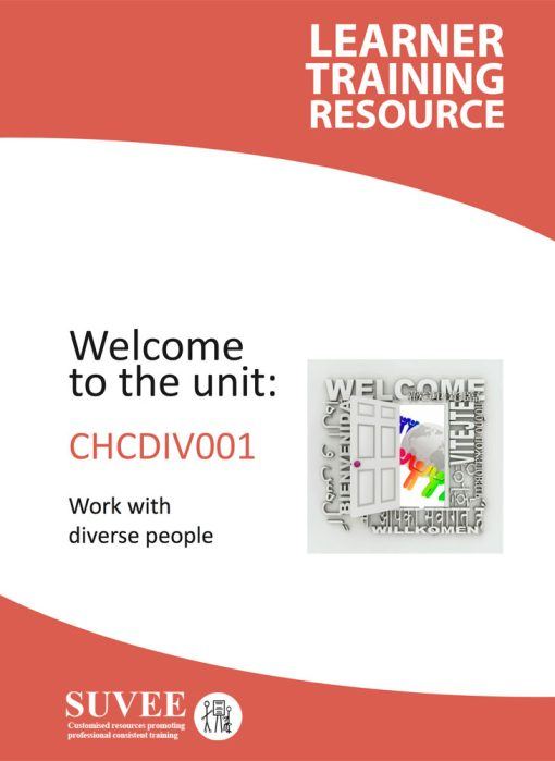 CHCDIV001 - Work With Diverse People - Suvee Aged Care Training Resources