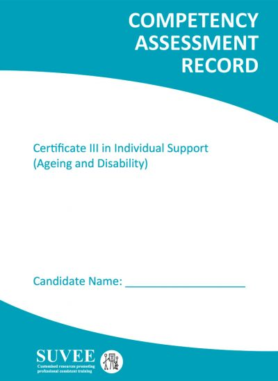 Cert-III - Certificate III Competency Assessment Record Book